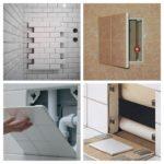 ревизионный люк в ванной идеи интерьер