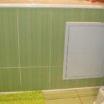 ревизионный люк в ванной идеи оформление