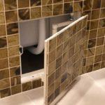 ревизионный люк в ванной идеи оформления