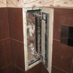 ревизионный люк в ванной фото варианты