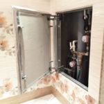 ревизионный люк в ванной идеи фото