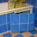 ревизионный люк в ванной обзор