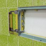 ревизионный люк в ванной фото идеи