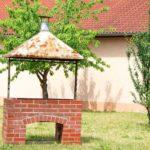 самодельный мангал на даче
