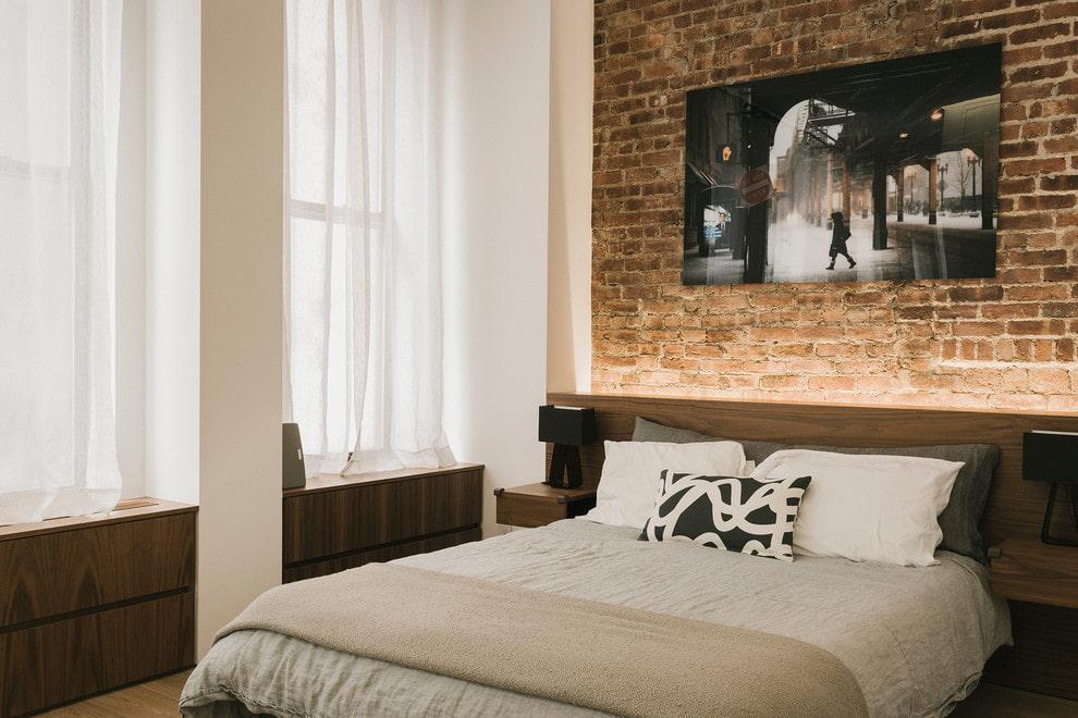 шторы до подоконника в спальне идеи варианты