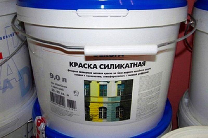 силикатная краска для потолка