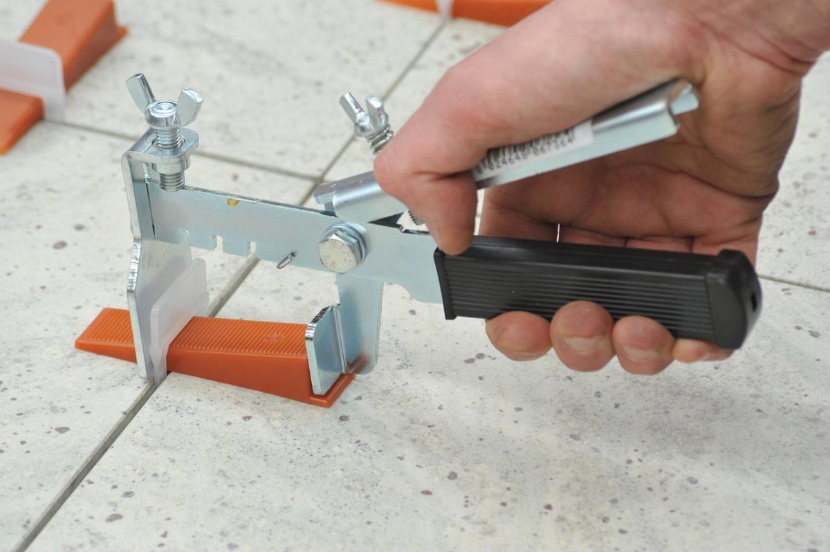система укладки плитки