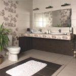 плитка для ванной комнаты идеи виды