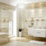 плитка для ванной комнаты обзор