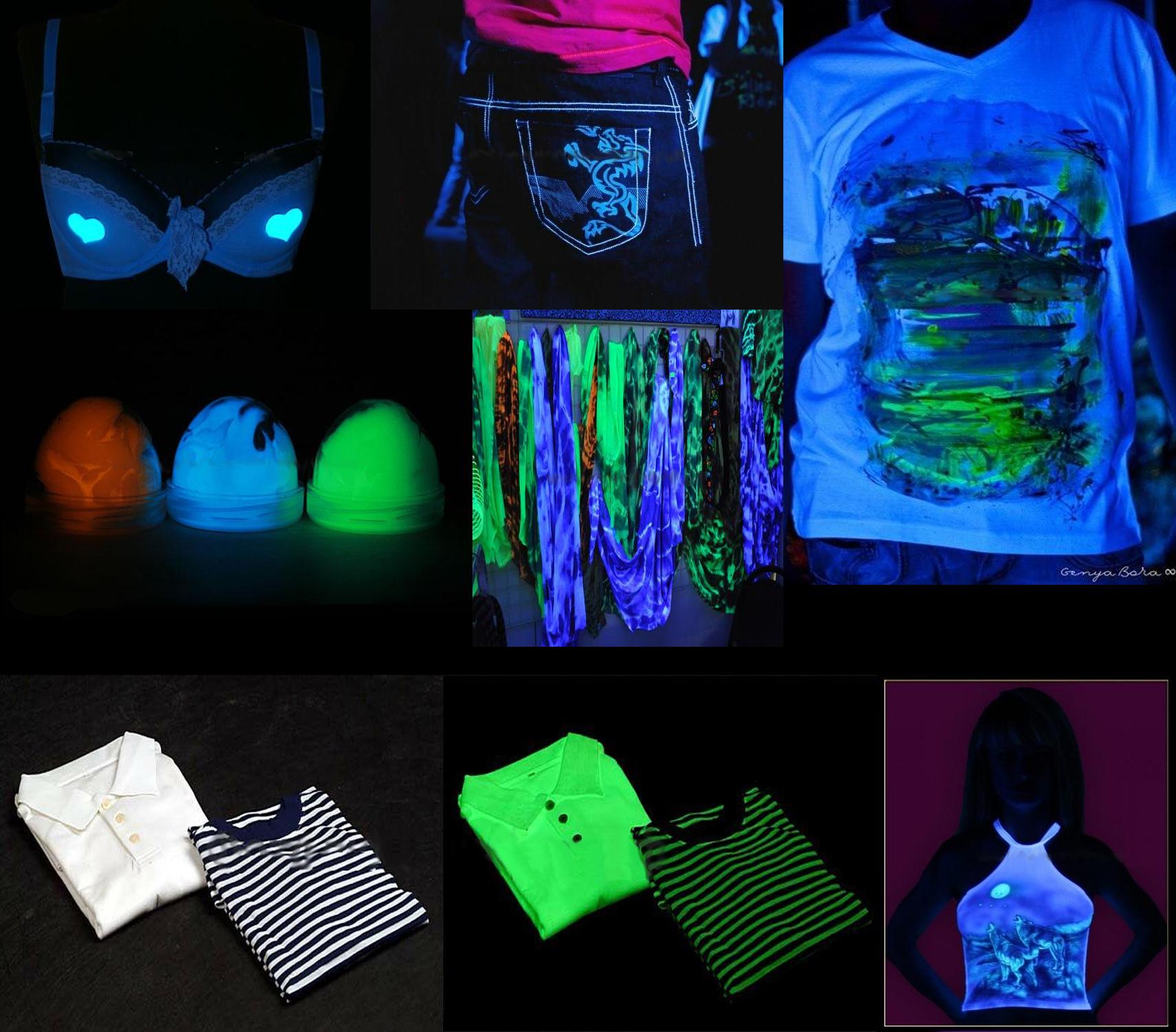 светящиеся краски для ткани