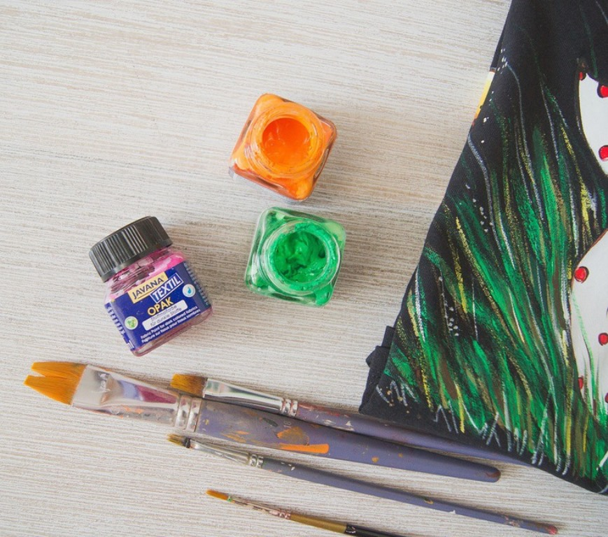 текстильные краски