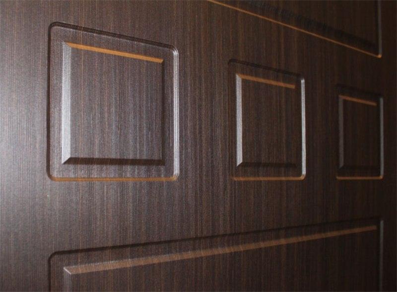 варианты обивки дверей панелями мдф