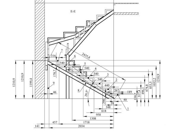 Например, специальные компьютерные программы, сайты, приложения, с помощью которых можно рассчитать высоту и длину лестницы.