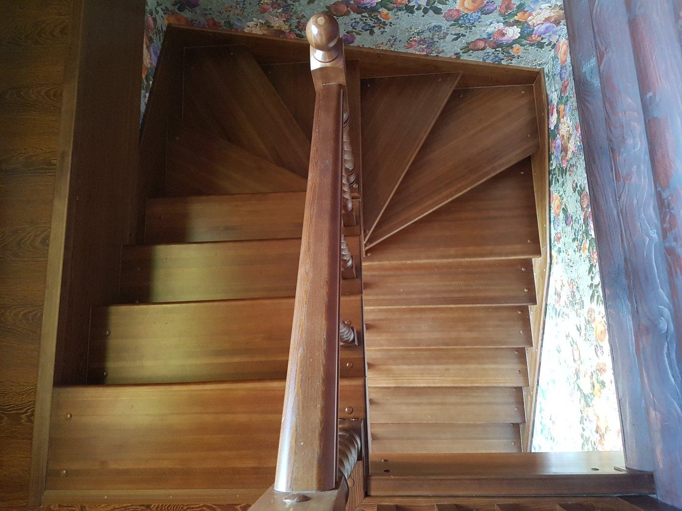 Лестницы с забежными ступенями картинки