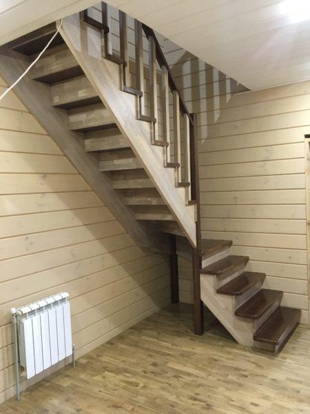 Лестничные изделия производятся из бетона, металла, дерева или стекла