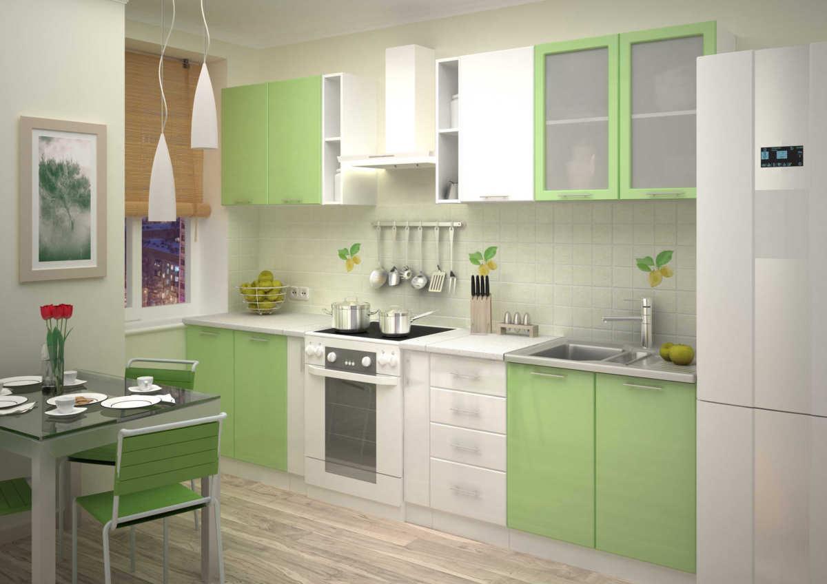 Кухонная мебель на картинках