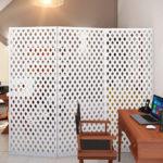 зонирование однокомнатной квартиры декор фото