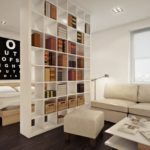 зонирование однокомнатной квартиры идеи