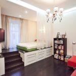 зонирование однокомнатной квартиры виды оформления