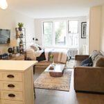 зонирование однокомнатной квартиры фото дизайна