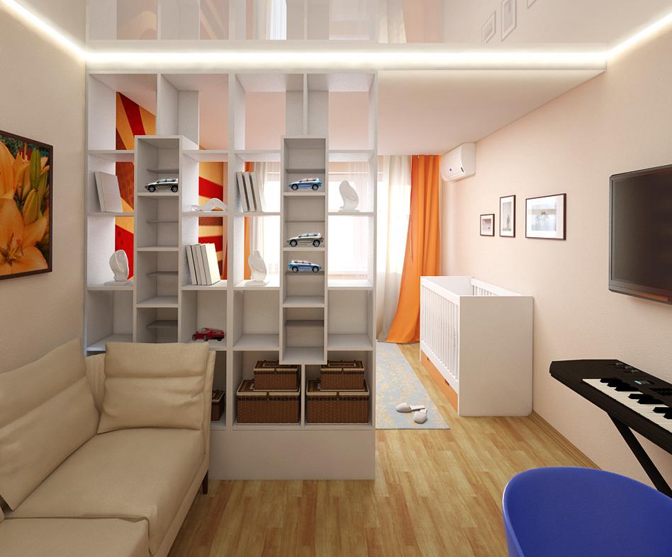 Дизайн комнаты с эркером фото считают