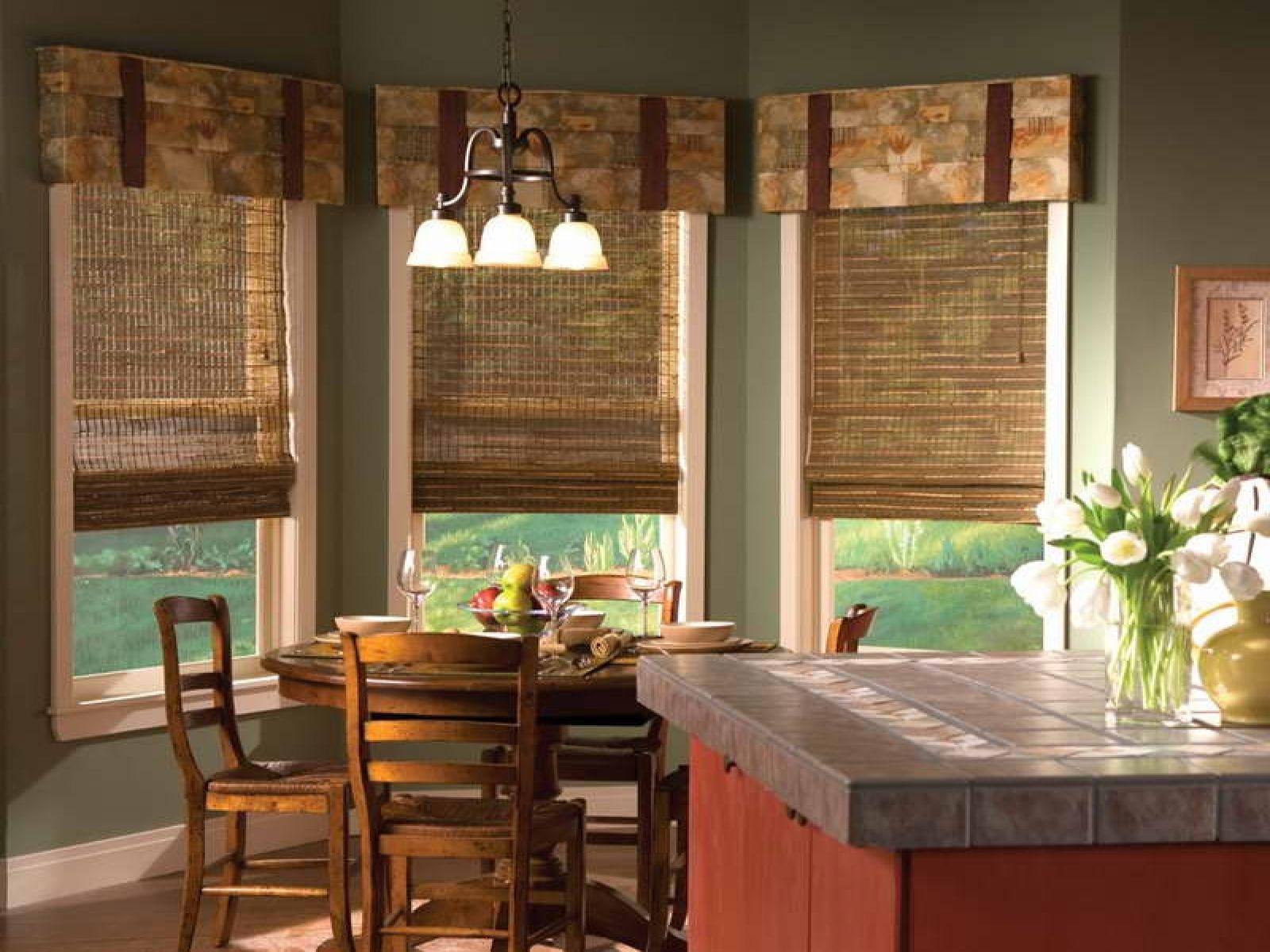 преимущества бамбуковых штор для кухни