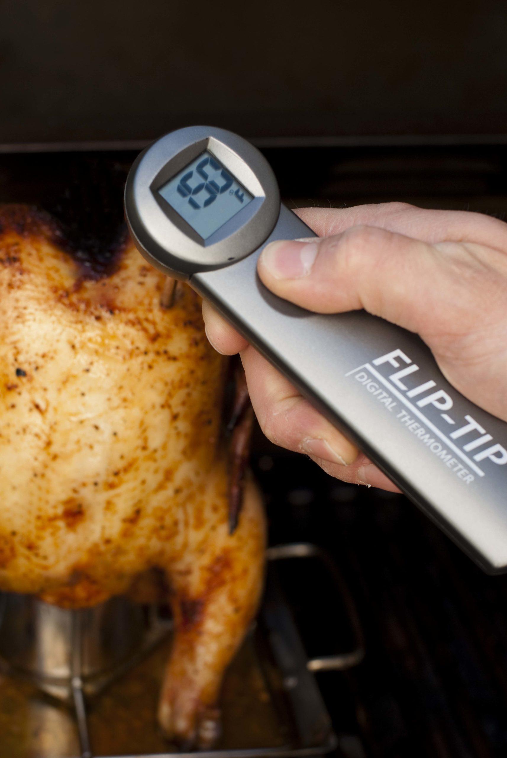 бесконтактный термометр для духовки