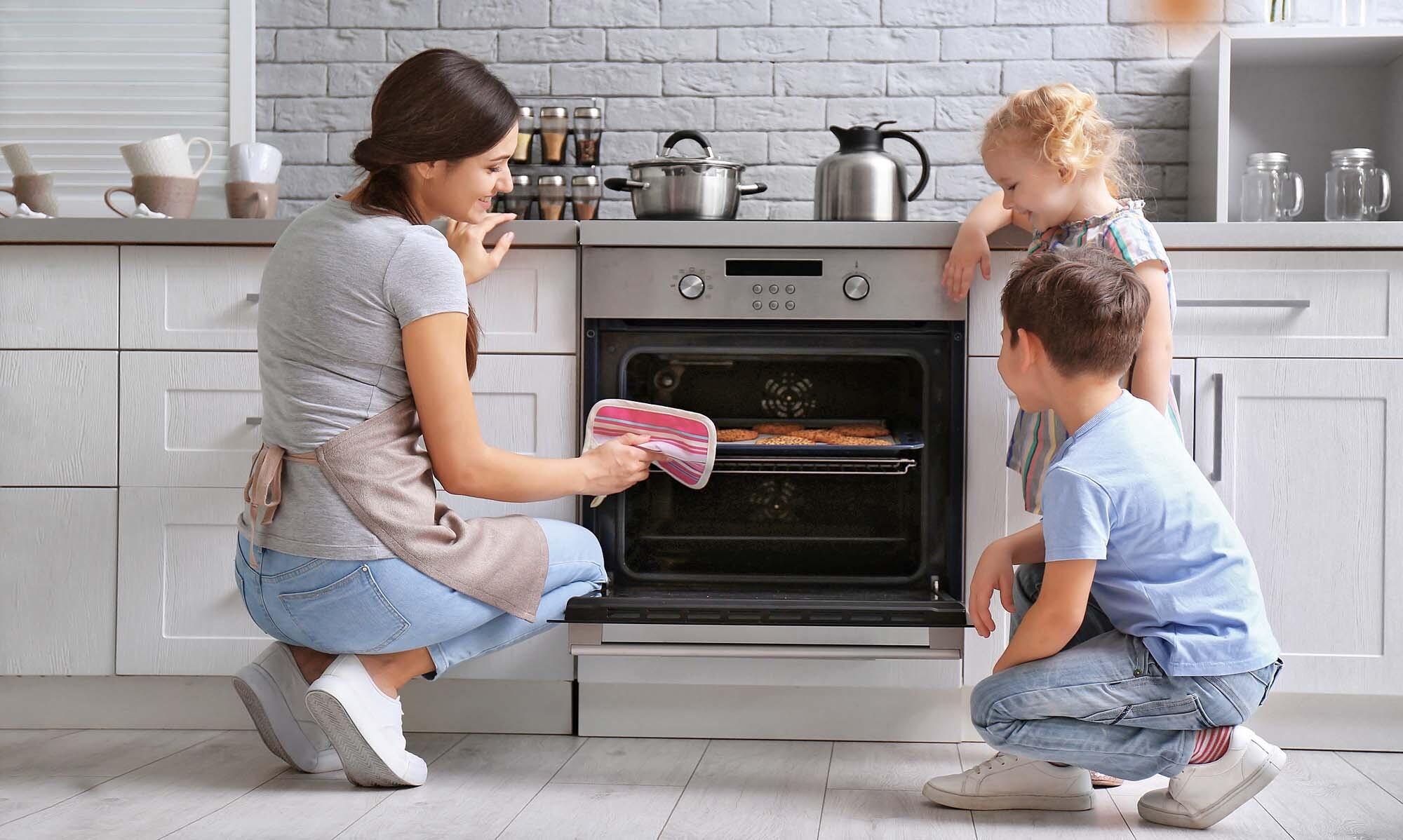 безопасность духовки