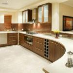 мебель для кухни полукругом