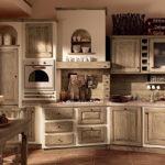 большая кухня прованс