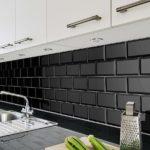 черная плитка кабанчик