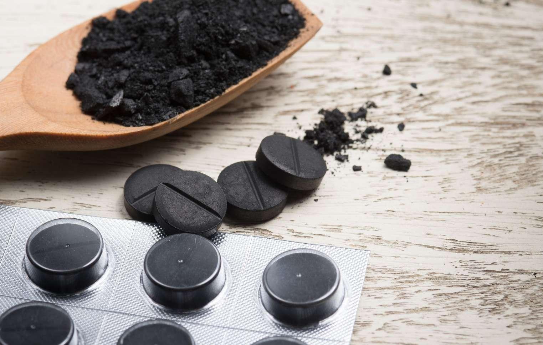 чистка плиты активированным углем