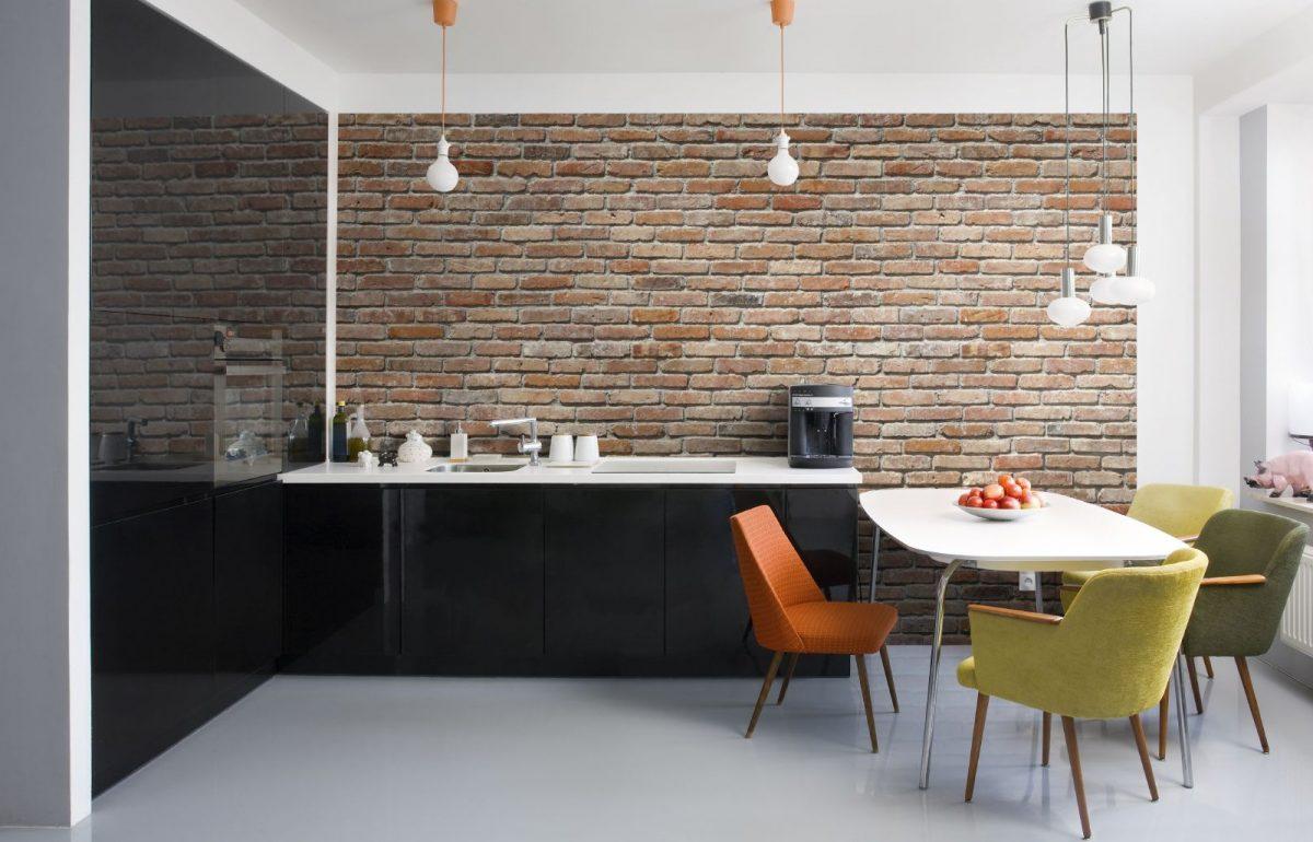 лофт в кухне