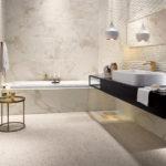 декоративная плитка в душе