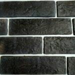 черная декоративная плитка