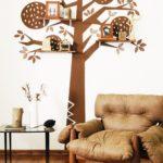 настенное дерево для фотографий