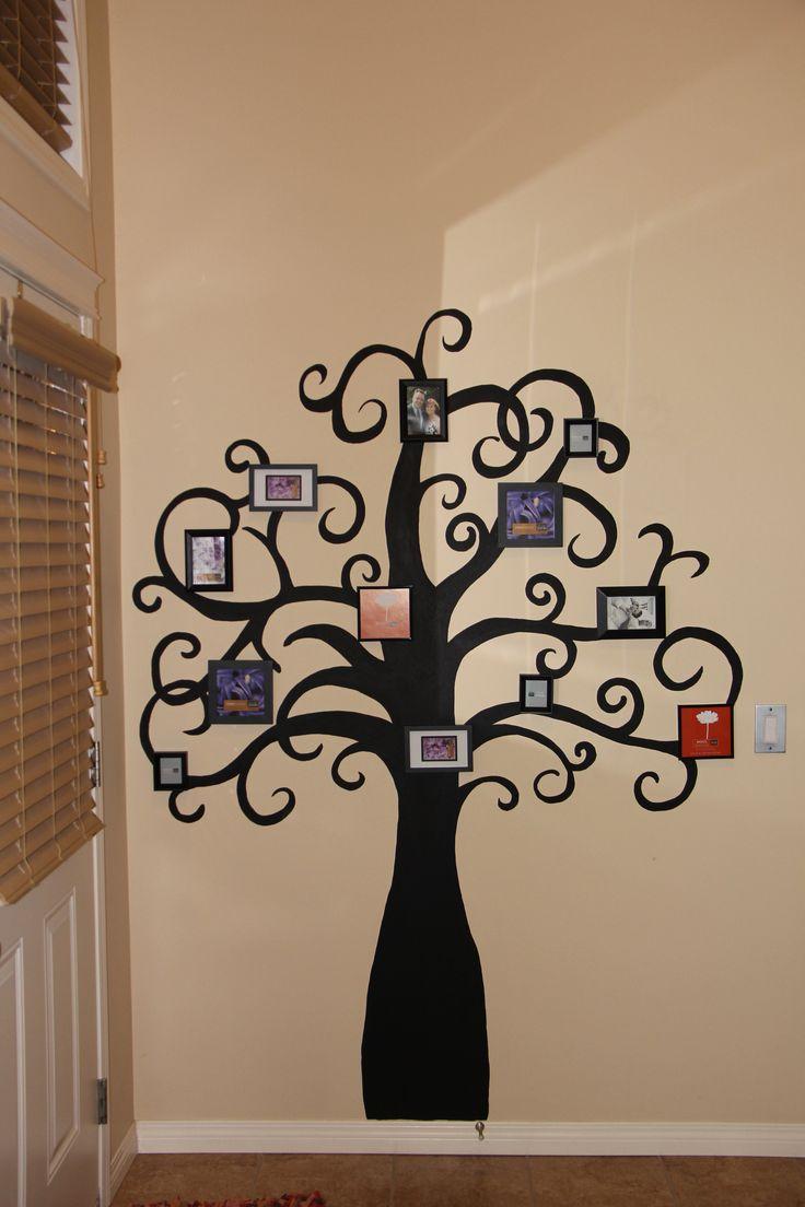 рамки для фото на дереве