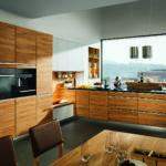 деревянная кухня модерн