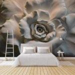 фотообои с абстракциями на тему цветов