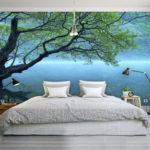 фотообои в спальню с пейзажем