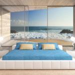 фотообои в спальню с видом на море