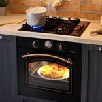 газовая духовка в кухне