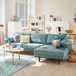 диван в стиле сканди
