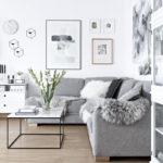 диван в стиль сканди