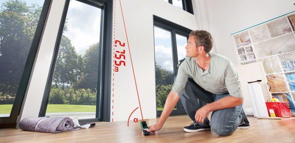 как измерить стену с окнами