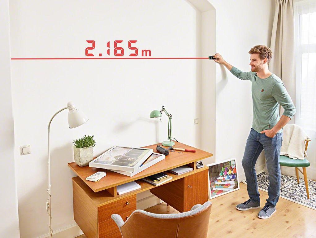 как измерить площадь комнаты с нишей