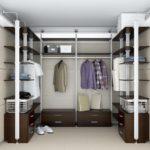 гардероб современный