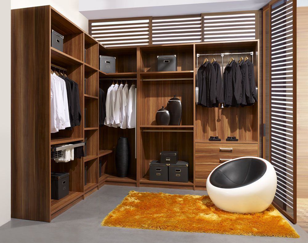 комфортная гардеробная