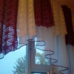 штора на кухню