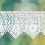 филейное вязание штор